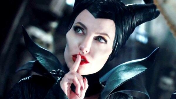 A scene with Maleficent.