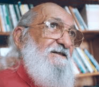 A photo of Paulo Freire.