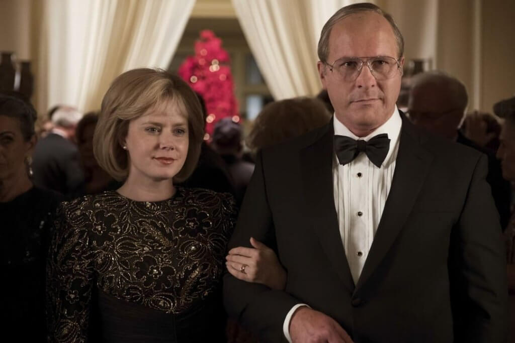 Dick Cheney in the movie Vice.