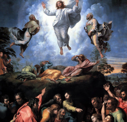 The Transfiguration by Raphael Sanzio.