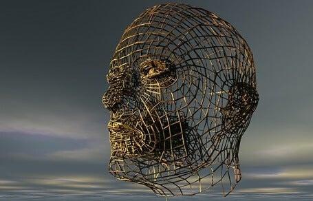 A wicker head.