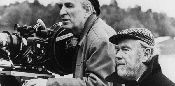 An older Ingmar Bergman.