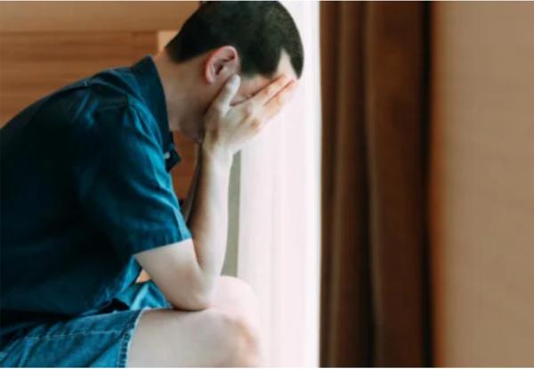 A man worried due to compulsive masturbation.