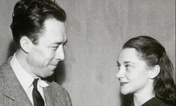 Albert Camus and Maria Casares.
