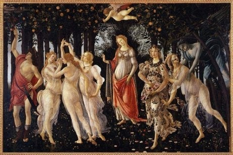 A Botticelli painting.