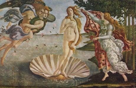 Bottcelli's Venus.
