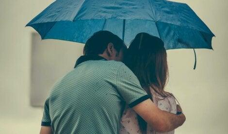 A couple: mature or immature love?