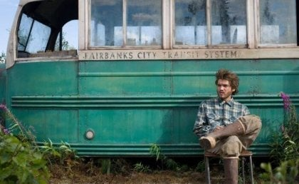 A scene from Into the Wild.