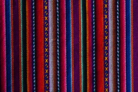 A piece of woven fabric.