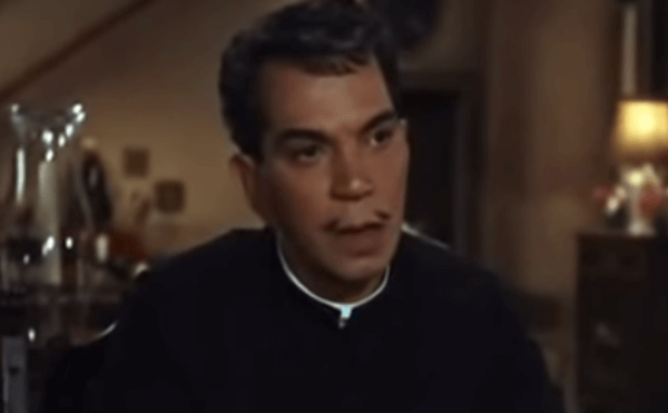 Cantinflas in a film.