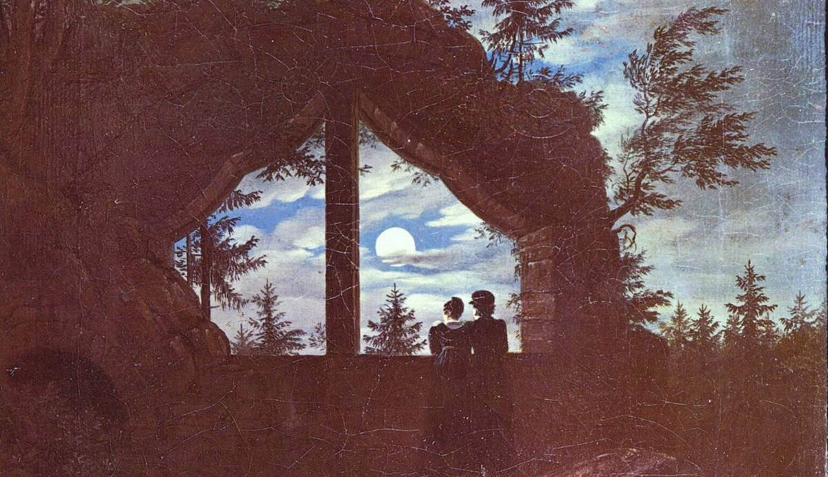 A painting by Carl Gustav Carus.