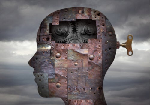 A mind with cogs.