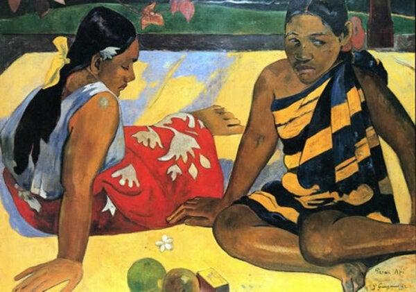 Paul Gaughin Tahitian Women,
