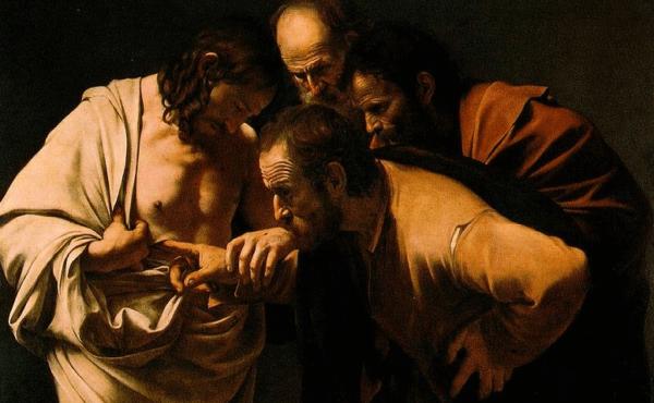 Caravaggio painting.