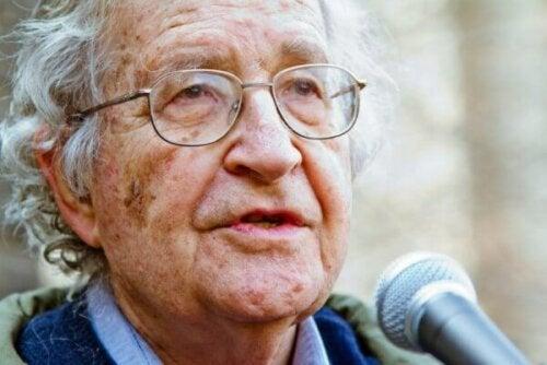 The Linguistic Theory of Noam Chomsky