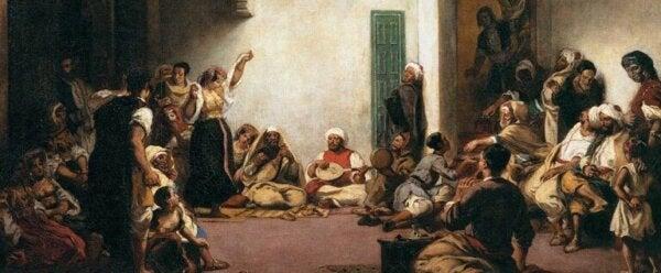 Delacroix painting.