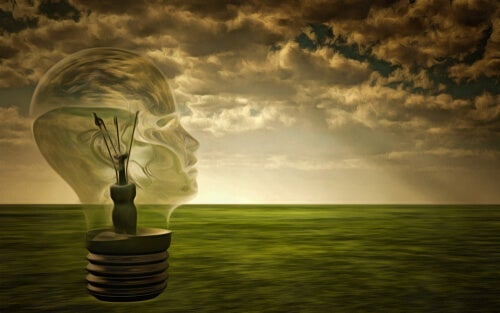 An illuminated mind.