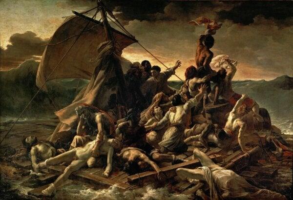 The Raft of the Medusa.