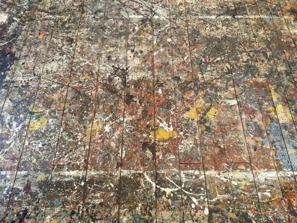 A Jackson Pollack painting.