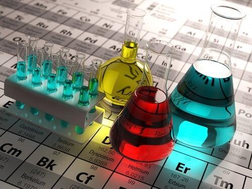 A chemistry lab.