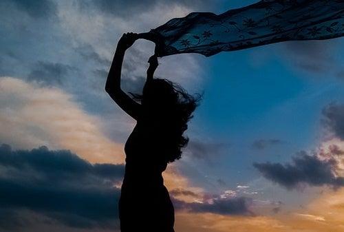 A free woman.