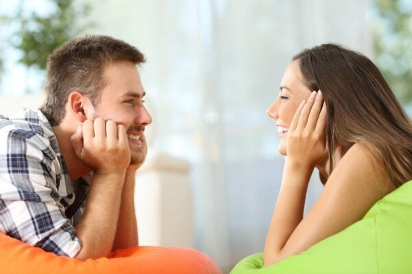 Gazing is a telltale sign that your lover truly cares about you.