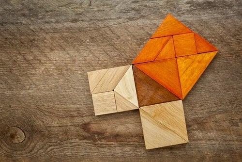 Pythagoras's theorem.