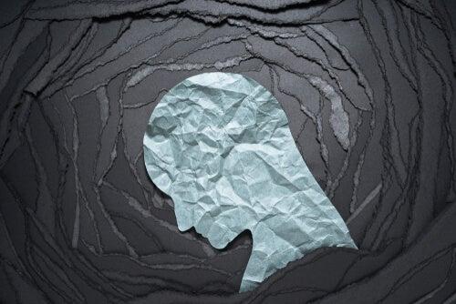 A paper head.