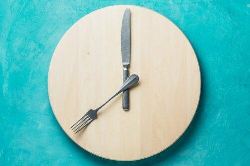 A primitive clock.
