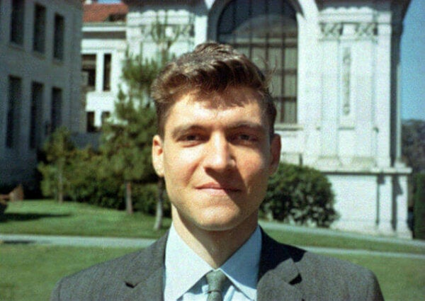 A young Ted Kaczynski prior to the Harvard experiment.