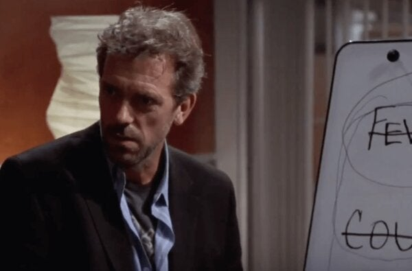A scene from House.