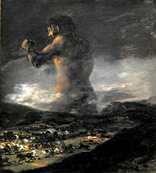 """""""El Coloso"""" af Goya afspejler muligvis Susacs syndrom"""