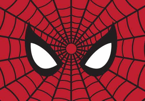 An illustration of Spider-Man.