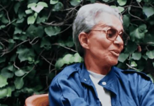 Chavela Vargas i et interview