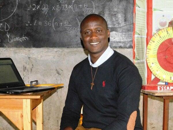 Peter Tabichi, Winner of the Global Teacher Prize
