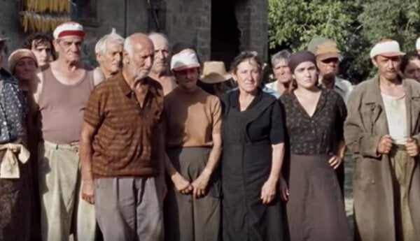 A scene from Happy as Lazzaro.