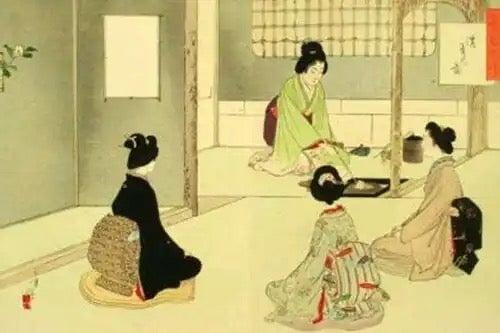 Chadō, the tea ceremony.