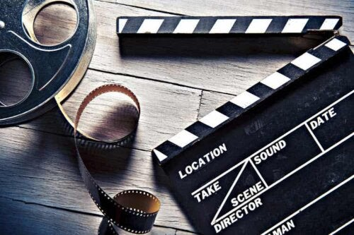 Objects commonly used in filmmaking.