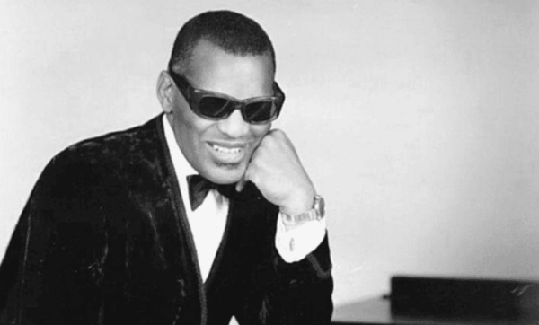 An image of a young Ray Charles.