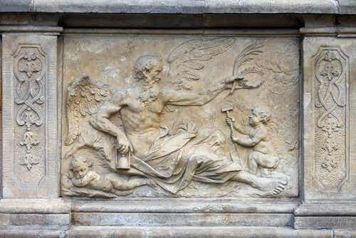 The Story of the Titan Cronus, a Myth Showing the Theme of a Mother's Love