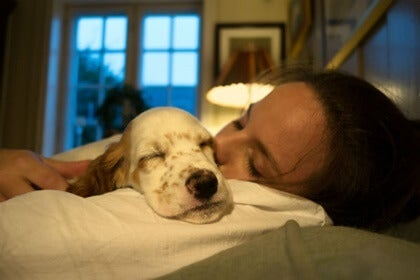 Sleeping With Your Pets: the Health Benefits and Risks