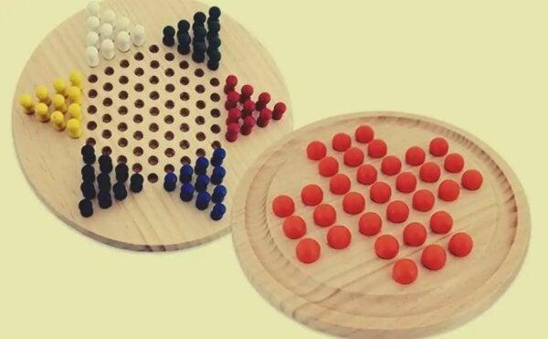 Chinese checkers.