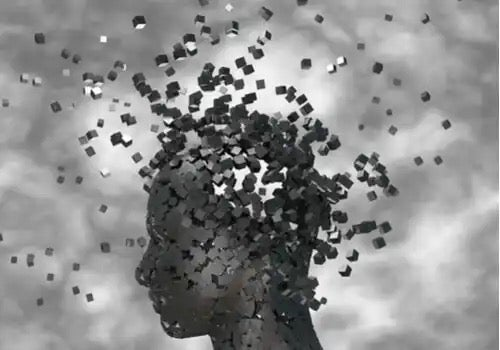 The mind shown in pieces.