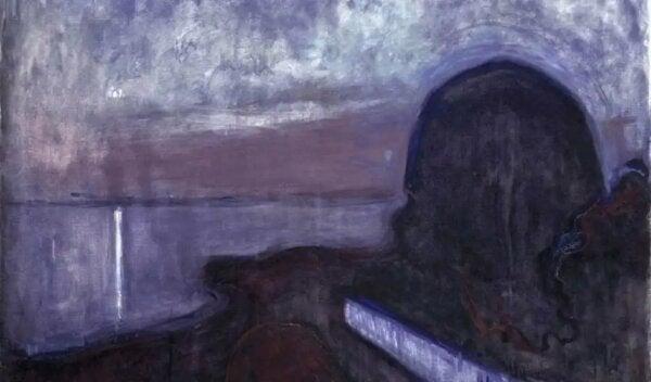 Een schilderij van Edvard Munch