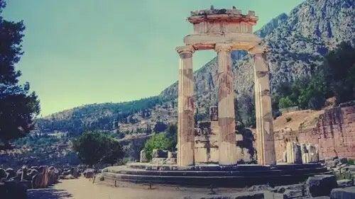 The Temple of Apollo.