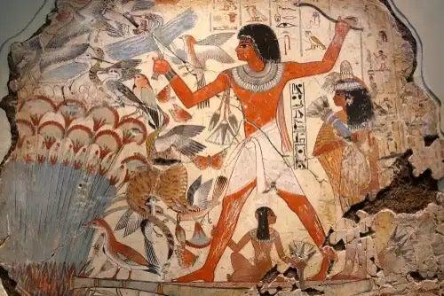 An Egyptian scene.