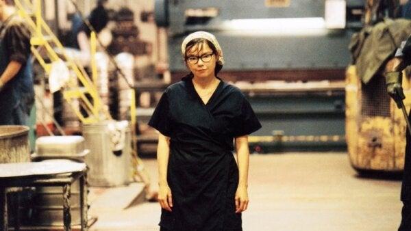 Björk in a film by Lars Von Trier.