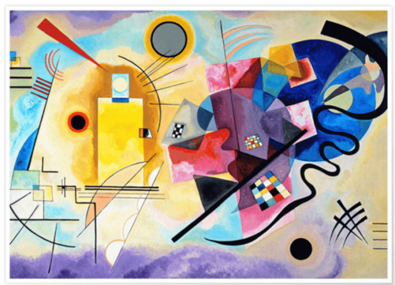 Wassily Kandinsky, a Life All about Color