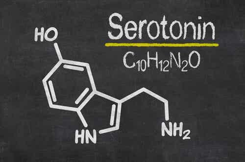 Kemisk formel for serotonin