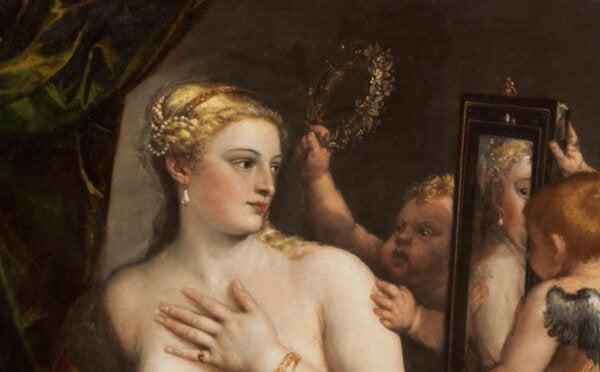 Titian'ın Venüs etkisini gösteren resmi.